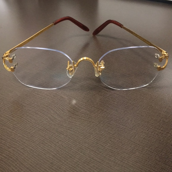 ae4383f60b Cartier Other - Cartier men s glasses. No prescription added to it